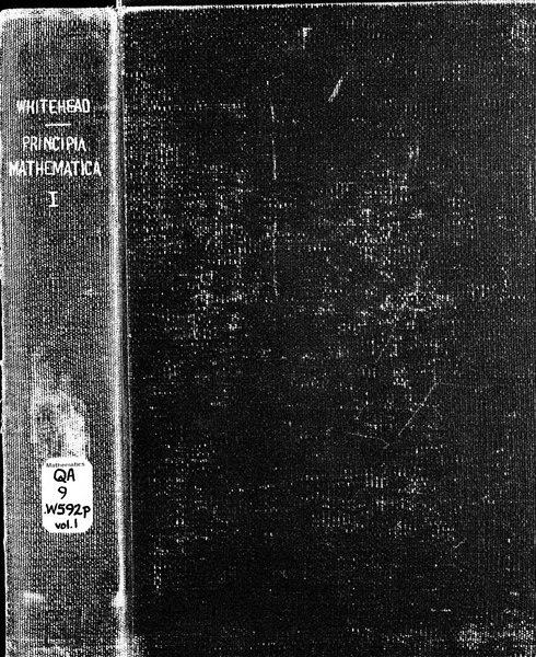 File:Russell, Whitehead - Principia Mathematica, vol. I, 1910.djvu