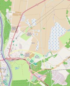 Mapa lokalizacyjna Słubic