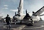 S-2E VS-24 on USS Intrepid (CVS-11) 1971.jpg