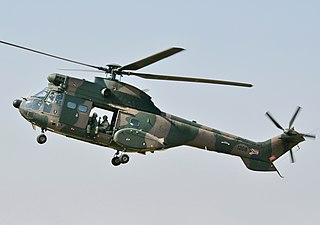 Atlas Oryx military transport helicopter