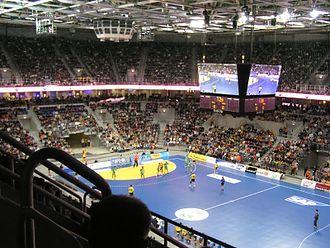 SAP Arena - Image: SAP Arena Handball