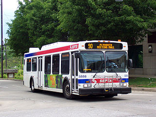 SEPTA Suburban Division bus routes Wikimedia list article