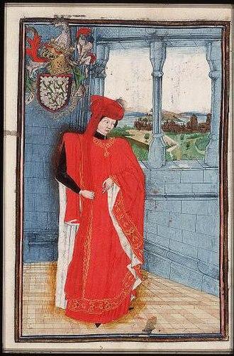 Hugo van Lannoy - Hugo van Lannoy as Knight in the Order of the Golden Fleece