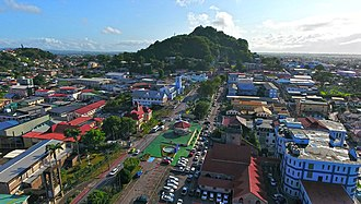 San Fernando, Trinidad and Tobago - Harris Promenade and San Fernando Hill