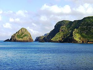 Santa Maria Island - São Lourenço Islet.