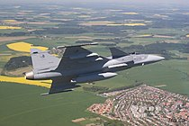 Saab JAS 39 Gripen Czech Air Force.jpg