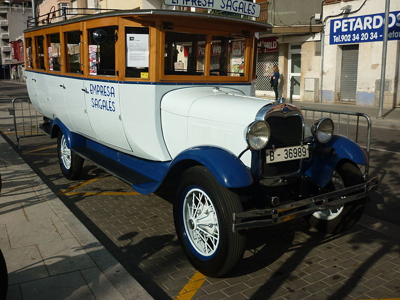 File sagales ford aa 1929 bus jpg wikimedia commons for Ford motor company sa de cv