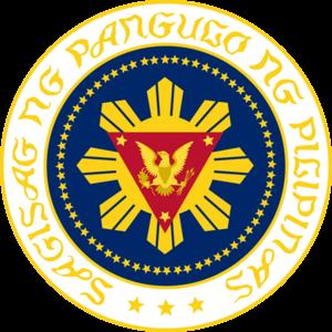 Seal of the President of the Philippines - Image: Sagisag ng Pangulo ng Pilipinas FM
