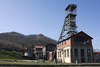 Saint-Étienne Mine Museum - Couriot pit Headframe.