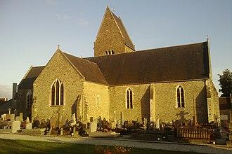 Saint-Georges-Montcocq - The church in Saint-Georges-Montcocq