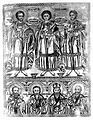 Saint Damian, Saint Pantaleon and Saint Cosmas with four mal Wellcome L0020486.jpg