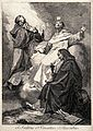 Saint Isidore of Chio, Saint Vincent and Saint Hyacinth. Etc Wellcome V0033204.jpg