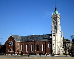 St. Stephen Church and Rectory - St. Stephen Church in Hamilton, OH