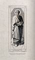 Saint Mark. Engraving by F. Keller after F. Overbeck. Wellcome V0032598.jpg