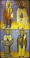 Saint Spyridon, Naum, Alipy, Stylianos.jpg