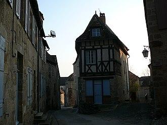 Saint-Benoît-du-Sault - Medieval town