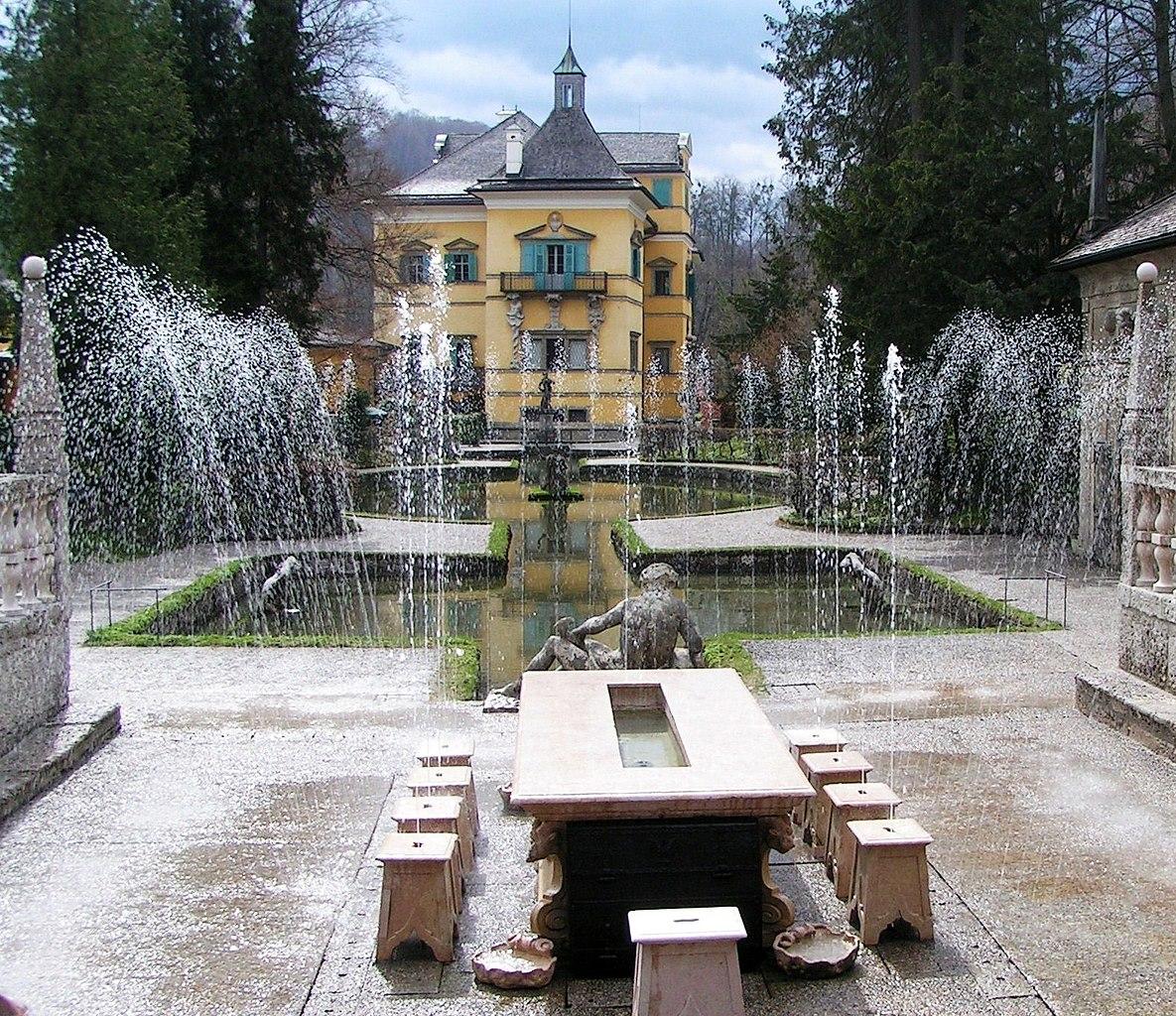 Giochi D Acqua.File Salisburgo Castello Di Hellbrunn Giochi D Acqua