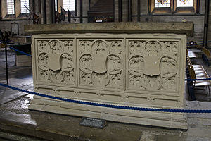 Richard Beauchamp (bishop) - Beauchamp's tomb in Salisbury Cathedral