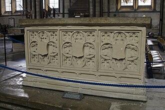 Richard Beauchamp (bishop) - Beauchamp's tomb in Salisbury Cathedral