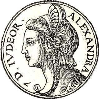 Salome Alexandra Queen regnant of Hasmonean Judaea