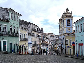 Historic Center of Salvador World Heritage Site in Salvador, Bahia, Brazil