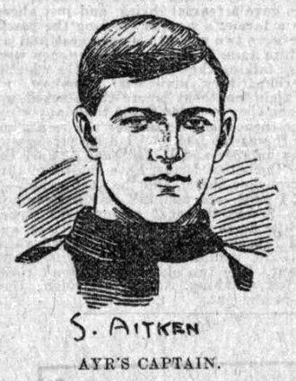 Samuel Aitken - 1902 sketch from Dundee Evening Post