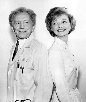 Ruth Foster - Sam Jaffe and Foster in 1965