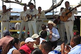 San Jose Flea Market - A Mariachi band performing at San Jose Flea Market