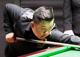 Sanderson Lam English snooker player