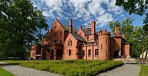 Das Schloss von Sangaste