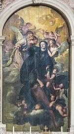 Santa Giustina (Padua) - Ecstasy of St. Gertrude by Pietro Liberi