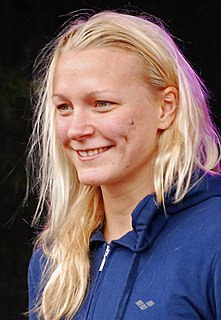 Sarah Sjöström Swedish swimmer
