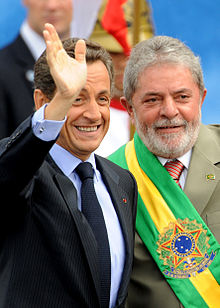 Sarkozy Lula