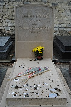 Sartre Beauvoir grave (2014).JPG