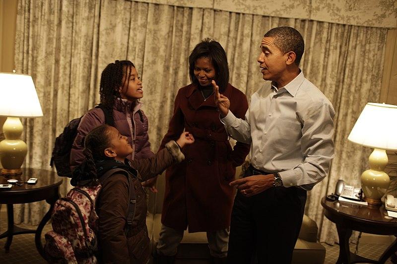 韋恩斯坦曾是歐巴馬的捐款大戶,也曾提供歐巴馬女兒馬里婭實習機會。圖片取自Callie Shell