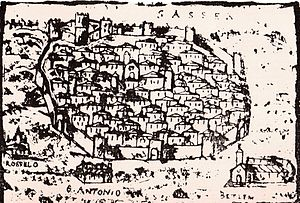 Sassari - Sassari view in 16th century