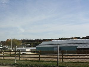 Sauk County, Wisconsin - Fairgrounds in Baraboo