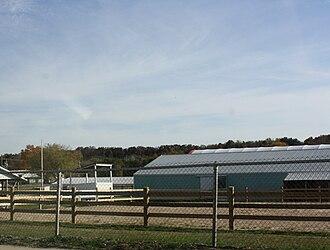 Sauk County, Wisconsin - Fairgrounds in Baraboo