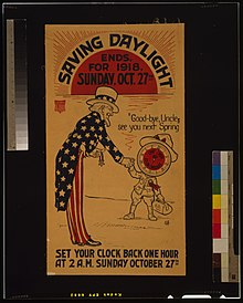Daylight Saving Time In The United States Wikipedia