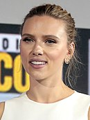 Photo of Scarlett Johansson at the 2019 San Diego Comic-Con