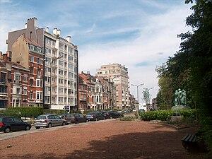Schaerbeek - Image: Schaerbeek Place des Carabiniers 01