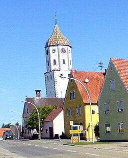 Leaning tower of Munningen