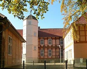 Fallersleben Castle - Courtyard
