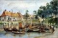 Schokkers, aquarelle de Gerrit Jan Smit, 1870 01.jpg