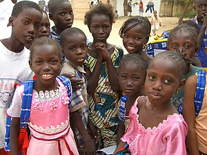 Kaolack - Children in 2007