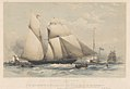 Schooner Yacht Dolphin - winning the Queen's Plate at Cowes, August 17th 1839 RMG PY8651.jpg