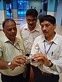 Science Career Ladder Workshop Participants Visiting Science City - Indo-US Exchange Programme - Kolkata 2008-09-17 01289.JPG