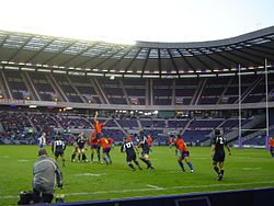 11 November 2006 Scotland 44-6 Romania