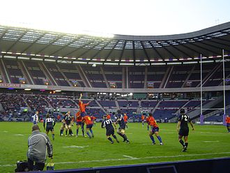Scotland national rugby union team - 11 November 2006 Scotland 44–6 Romania