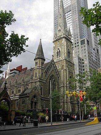Bates Smart - Image: Scots Church Collins Street Melbourne